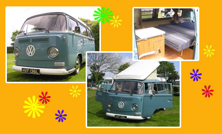Ringo Campervan Hire In Cornwall Vw Volkswagon Camper